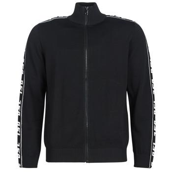 material Men Jackets / Cardigans Diesel K KER A Black