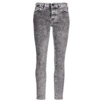 material Women slim jeans Diesel BABHILA Grey