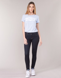 material Women Skinny jeans Levi's 721 HIGH RISE SKINNY To / Tea / Nine