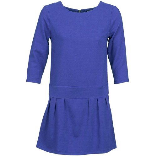 material Women Short Dresses Betty London CANDEUR Blue