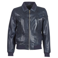 material Men Leather jackets / Imitation le Redskins RUBBETS Marine