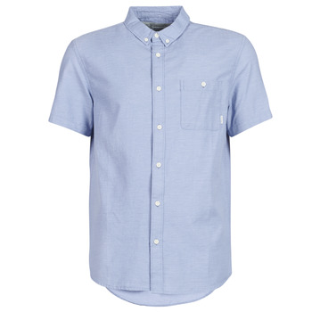 material Men short-sleeved shirts Quiksilver WATERFALL Blue / Clear