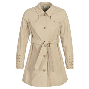 material Women Trench coats Cream ANNABELL Beige