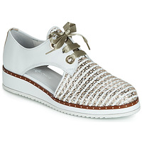 Shoes Women Derby shoes Philippe Morvan DAMOX V1 TRES ALFA BLANC/PLAT White
