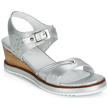 Shoes Women Sandals Regard RAXALI V3 ECLAT ARGENT Silver