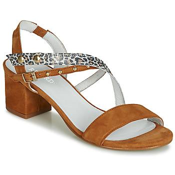 Shoes Women Sandals Regard REFTA V1 ANTE CAMEL Brown