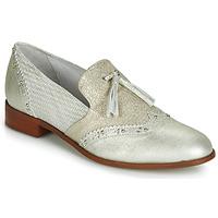 Shoes Women Loafers Regard REVAMI V3 METALCRIS ICE Silver