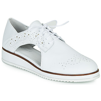 Shoes Women Derby shoes Regard RIXAMU V1 NAPPA BLANC Black
