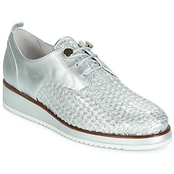 Shoes Women Derby shoes Regard RIXIZA V2 TRES METALCRIS PLATA Silver