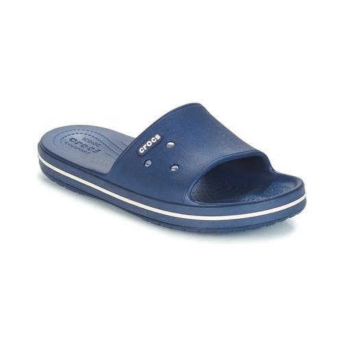 Shoes Sliders Crocs CROCBAND III SLIDE Marine / White