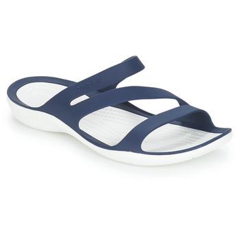 Shoes Women Sliders Crocs SWIFTWATER SANDAL W Marine