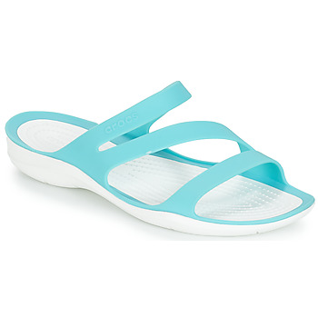 Shoes Women Sliders Crocs SWIFTWATER SANDAL W Blue