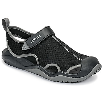 Shoes Men Sandals Crocs SWIFTWATER MESH DECK SANDAL M Black