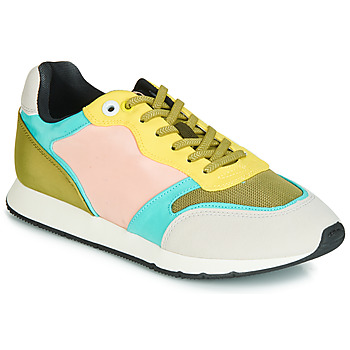 Shoes Women Low top trainers MTNG HANNA Pink / Yellow / Turquoise