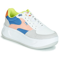 Shoes Women Low top trainers MTNG WAL Blue / Pink / Yellow