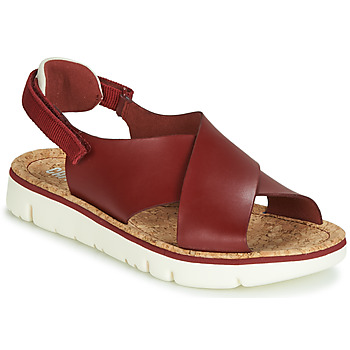 Shoes Women Sandals Camper ORUGA Red