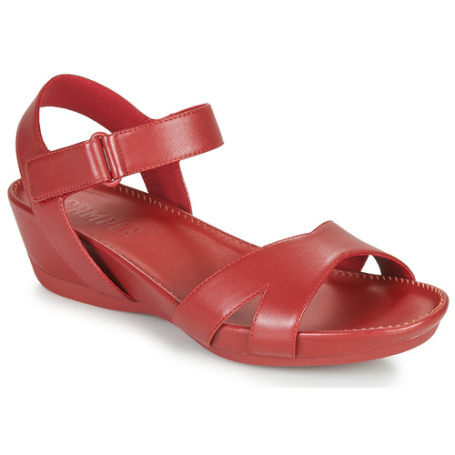 Shoes Women Sandals Camper Micro Red