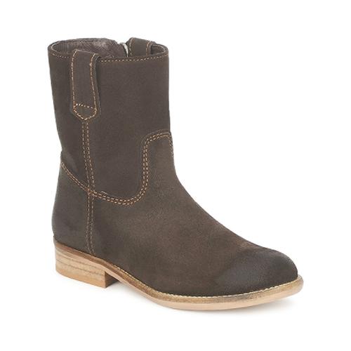 Shoes Children Mid boots Hip DIRAN Brown