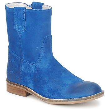 Shoes Girl Mid boots Hip DIRAN Blue