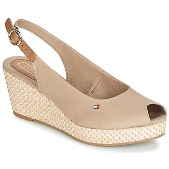Shoes Women Sandals Tommy Hilfiger ELBA 39D2 Beige