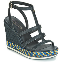 Shoes Women Sandals Tommy Hilfiger VANCOUVER 7A Marine