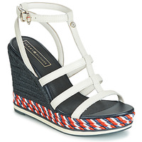 Shoes Women Sandals Tommy Hilfiger VANCOUVER 7A White