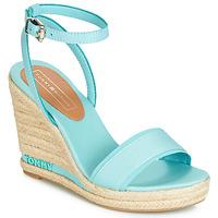 Shoes Women Sandals Tommy Hilfiger ELENA 78C Blue / Sky