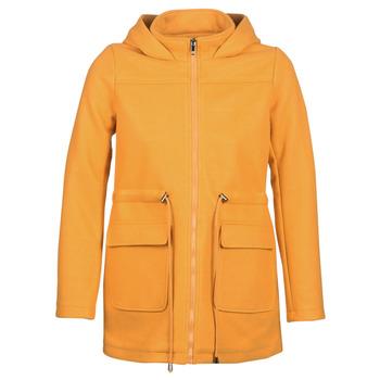 material Women coats Moony Mood JANTO Yellow