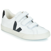 Shoes Low top trainers Veja 3-LOCK LOGO White / Black