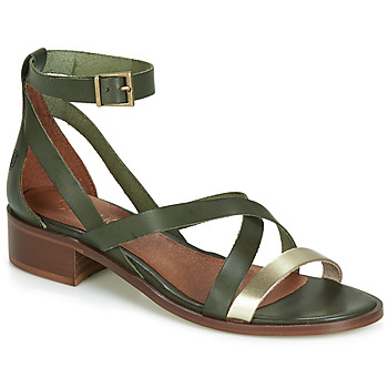 Shoes Women Sandals Casual Attitude JALAYECE Green