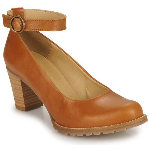 Shoes Women Court shoes Casual Attitude JALAYELE Camel