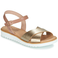 Shoes Women Sandals Casual Attitude JALAYEDE Pink / Gold
