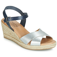 Shoes Women Sandals Casual Attitude JALAYEDE Marine / Silver