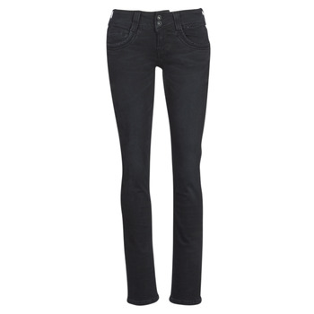 material Women straight jeans Pepe jeans GEN Black / S98