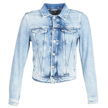 material Women Denim jackets Pepe jeans CORE Blue / Clear