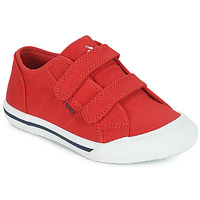 Shoes Children Low top trainers Le Coq Sportif DEAUVILLE-INF SPORT Red
