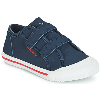 Shoes Children Low top trainers Le Coq Sportif DEAUVILLE-INF WINTER SPORT Dress / Blue