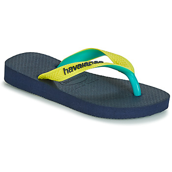Shoes Flip flops Havaianas TOP MIX Yellow / Navy