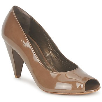Shoes Women Court shoes Espace LEON Brown