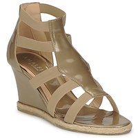 Shoes Women Sandals Amalfi by Rangoni LEMA Paint / Taupe