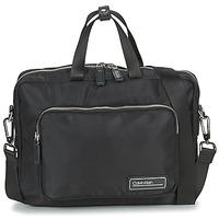 Bags Men Briefcases Calvin Klein Jeans PRIMARY 1 GUSSET LAPTOP BAG Black