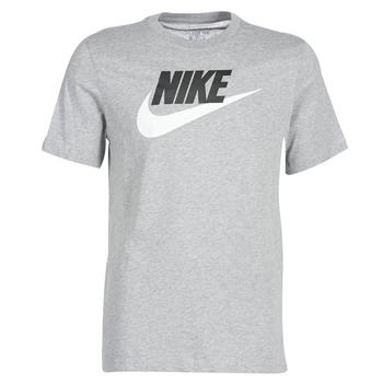 material Men short-sleeved t-shirts Nike NIKE SPORTSWEAR Grey