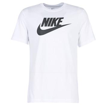 material Men short-sleeved t-shirts Nike NIKE SPORTSWEAR White