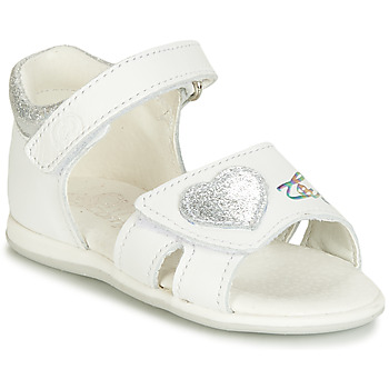 Shoes Girl Sandals Citrouille et Compagnie JAFALGA White