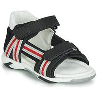 Shoes Boy Sandals Citrouille et Compagnie JATILETTE Black