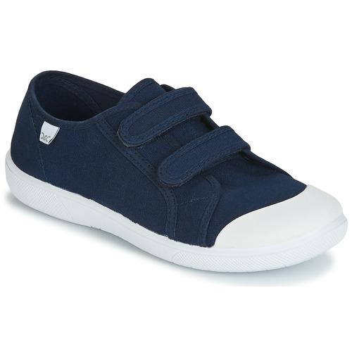Shoes Children Low top trainers Citrouille et Compagnie JODIPADE Marine