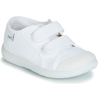Shoes Children Low top trainers Citrouille et Compagnie JODIPADE White
