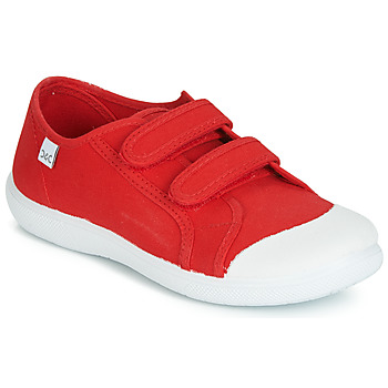 Shoes Children Low top trainers Citrouille et Compagnie JODIPADE Red