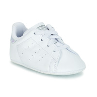 Shoes Girl Low top trainers adidas Originals STAN SMITH CRIB White