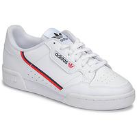 Shoes Children Low top trainers adidas Originals CONTINENTAL 80 J White